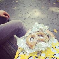 Pretzels in Central Park