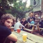 Gorgeous Boy in a Brooklyn Bar
