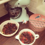 Prepping Christmas Cakes!