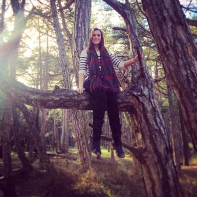 Climbing trees :)