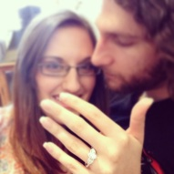 Our engagement! :)
